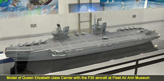Queen Elizabeth class British Carrier with the F35 aircraft