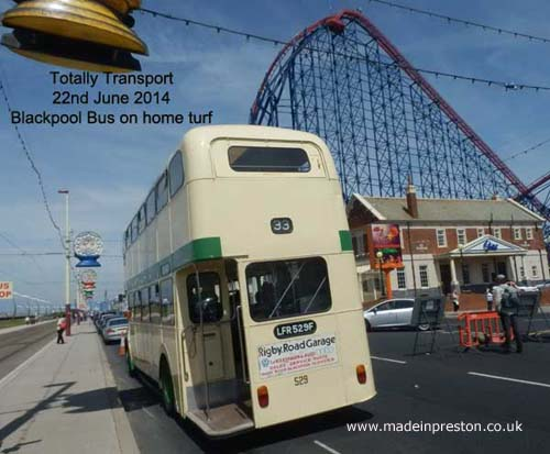 Totally Transport Blackpool 2014