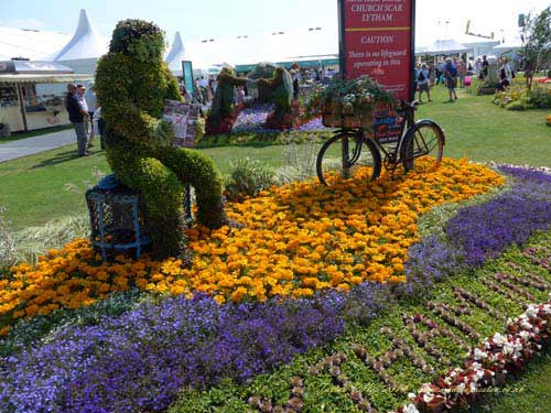 Lytham won a Silver Gilt Medal at Tatton RHS Show 2014
