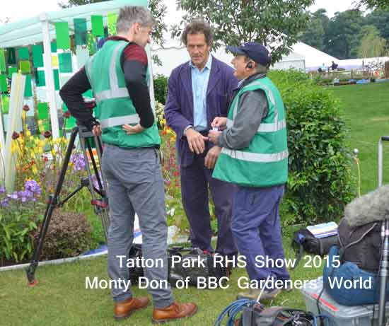 Monty Don at Tatton Park RHS Show 2015