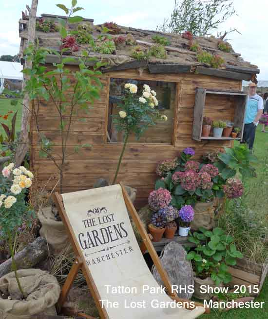 The Lost Garden Manchester, at Tatton Park RHS Show 2015