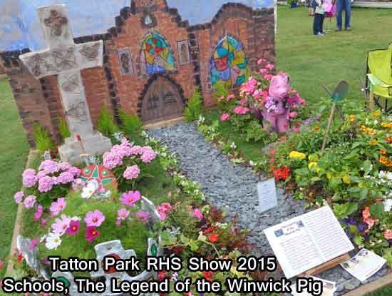 Legend of the Winwick Pig at Tatton Park RHS Show 2015