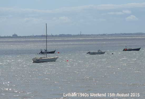 looking across to Southport. Lytham 1940s Weekend 2015