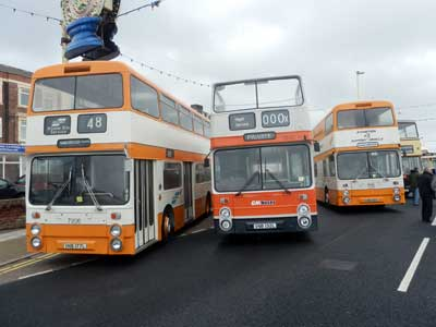 Blackpool Totally Transport 2013 Greater Manchester buses