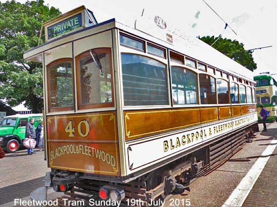 Fleetwood Tram Sunday 2014