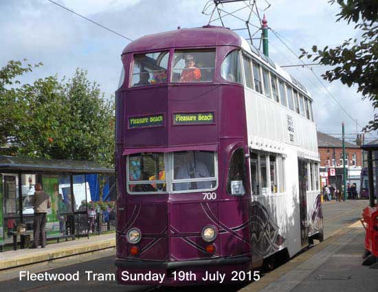 Fleetwood Tram Sunday 2013