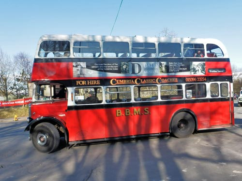ex BBMS bus at Kirkby Stephen Rally