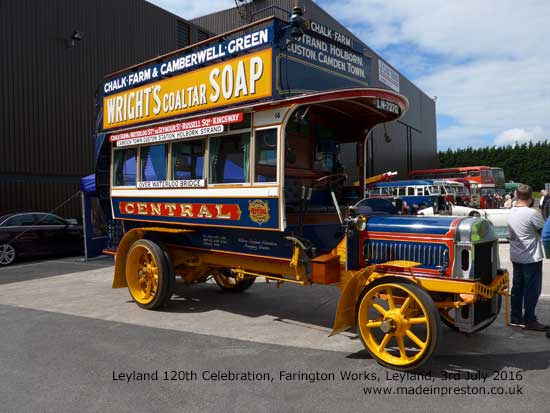 Leyland Society and Leyland Trucks 120th celebration 3rd July 2016