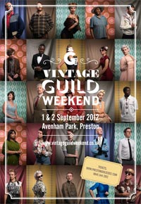 Vintage Weekend programme on the officila Guild website
