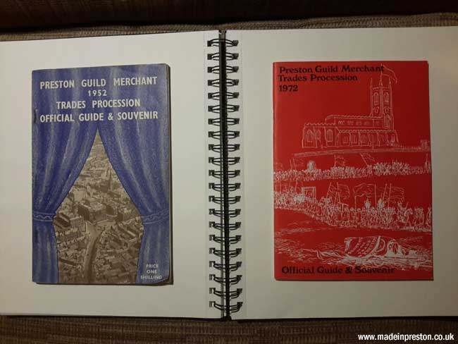 Preston Guild Programmes 1952 and 1972