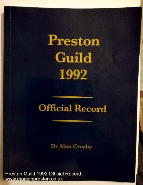 Preston Guild Official Record 1992