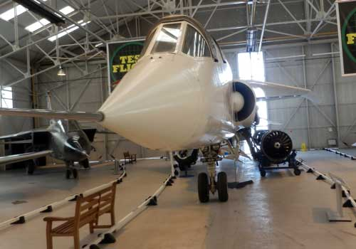 TSR2 at the RAF Museum Cosford