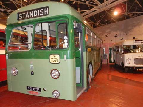 Leyland Tiger bus - British Commercial Vehicle Museum