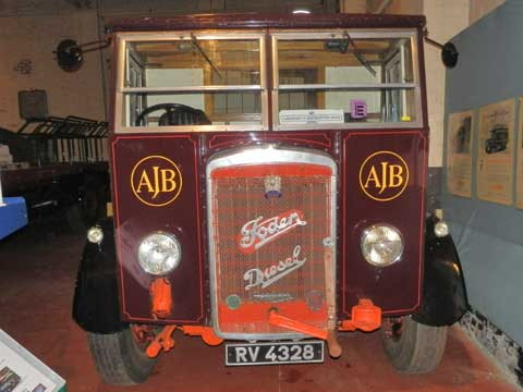 Foden Truck - British Commercial Vehicle Museum