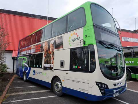 Preston Bus latest buses