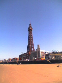 Blackpool Tower from Central