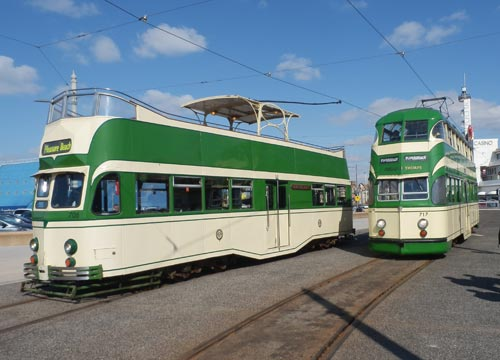Blackpool trams made in Preston