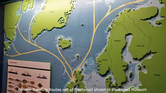 Fleetwood Trawling Routes