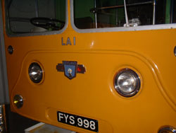 photo of the first Atlantean in service. Now in Glasgow Transport Museum