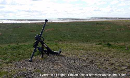view from Lytham old lifeboat station across the Ribble