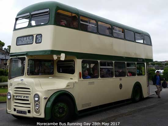 Ribble Vehicle Preservation Group Morecambe Running Day 29th May 2017
