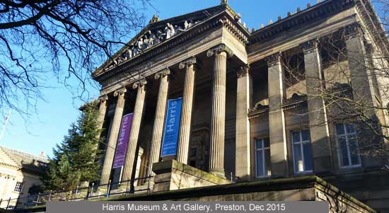 Harris Museum & Art Gallery, Preston, Grade 1 listed