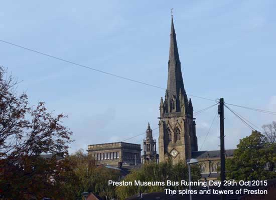 The dreaming spires of Preston