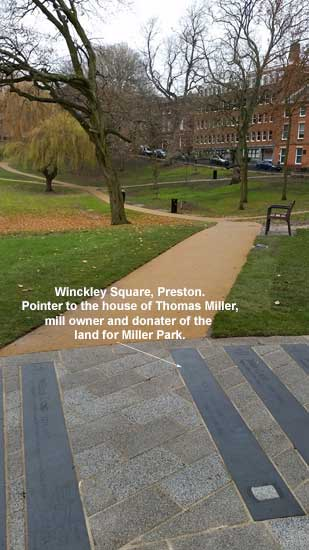 Thomas Miller pointer in Winckley Square