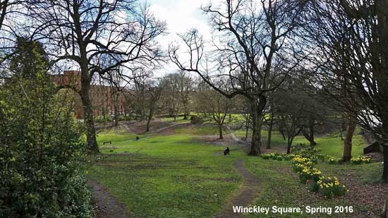 Winckley Square, Preston