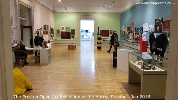 Preston Open Art Exhibition at the Harrris Art Gallery and Museum
