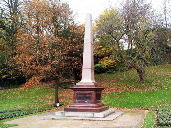 Boer War Memorial Preston Avenham Park