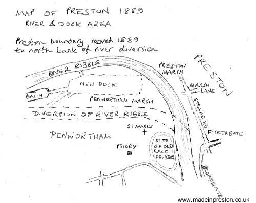 Preston Dock river diversion