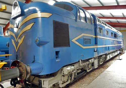 Deltic Prototype at the Ribble Steam Railway for Preston Guild 2012