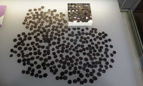 Rossall Hoard at the Harris Museum