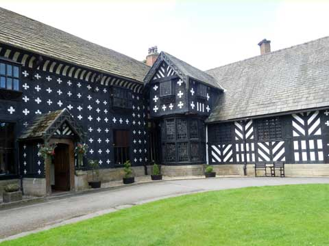 Samlesbury Hall built 1325  Made in Preston website