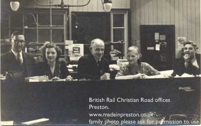 Preston Christian Road Railway Offices 1946