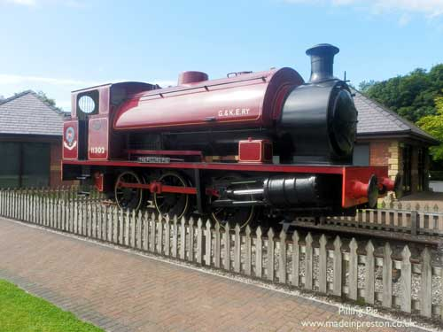 the loco known as the Pilling Pig
